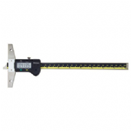 "Mitutoyo 571-212-20 Digimatic Depth Gauge 0-8""/200mm .01mm/.0005"